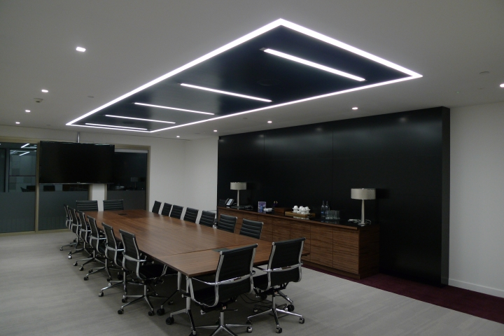Rectangle office lighting
