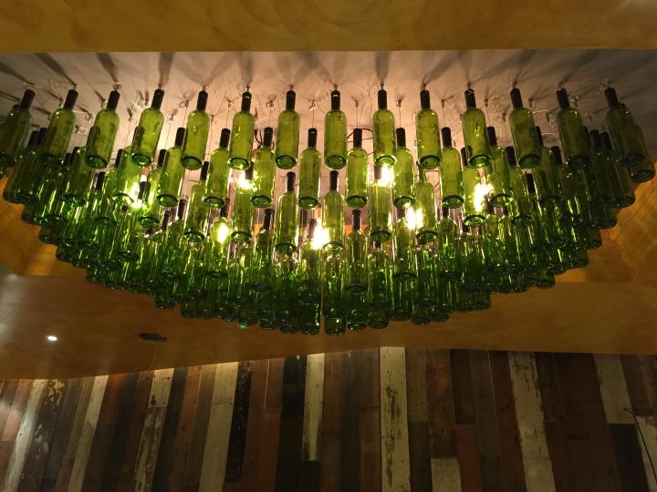 Moth - Bottle Chandelier Islington