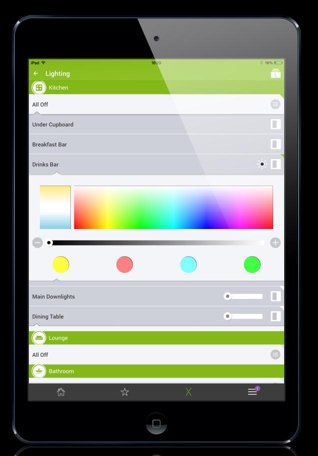 Space Grey iPad RGBW
