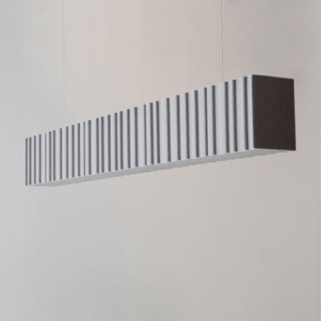 Feature acoustic pendant light