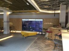 Lighting design for student accommodation