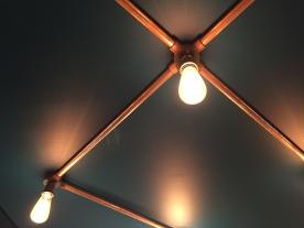 Lighting design for office breakout area