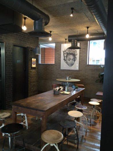 Lighting design for bar restaurant