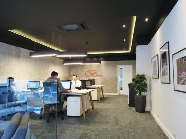 LED ceiling halo