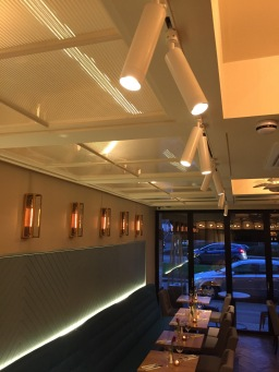 Restaurant lighting design