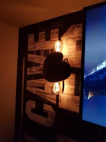 Boxing Glove wall lights
