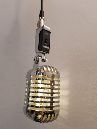 Retro Microphone pendants