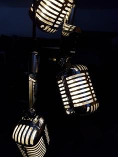 Mircophone pendants