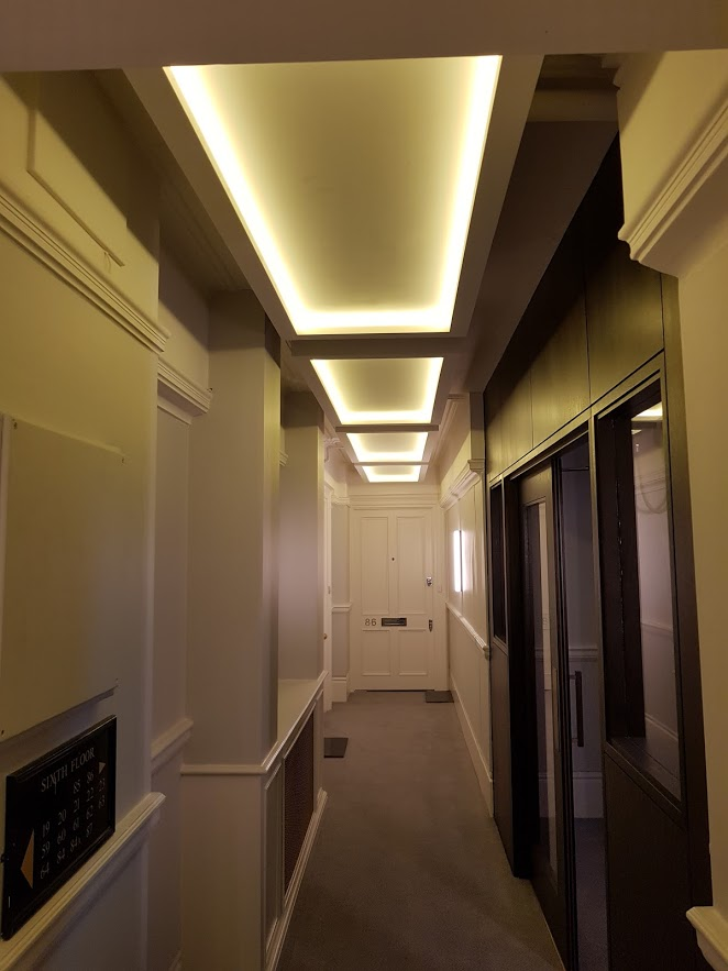 LED coffer